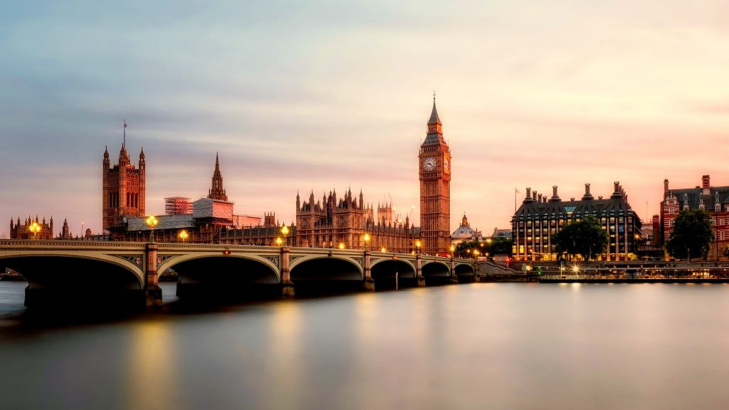 a bridge over thames london removals