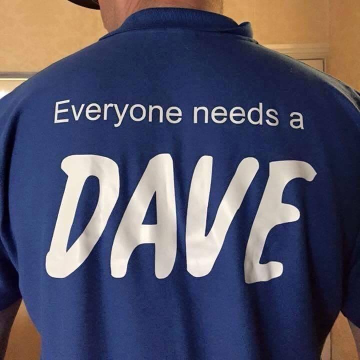 man with a van Edinburgh in a blue shirt