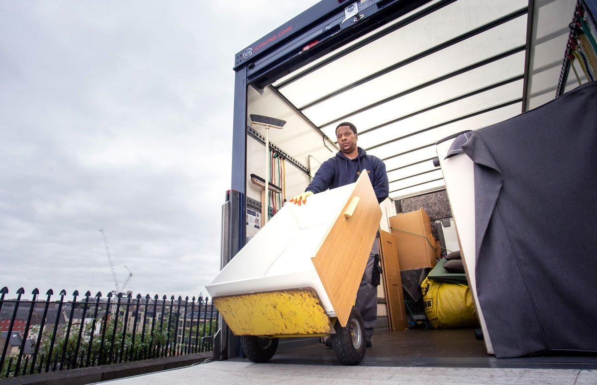 man with a van edinburgh heavy item removal