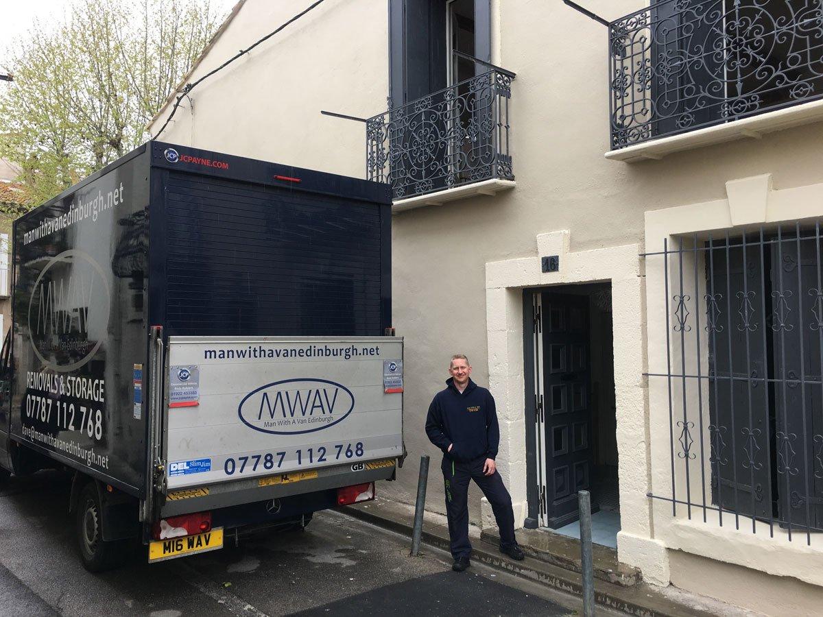 man with a van edinburgh and removal van